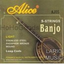 Corde Banjo 5 Corde Alice